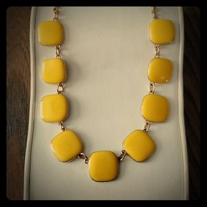 """18"""" Square Yellow & Gold Necklace"""